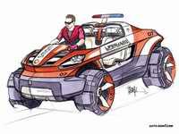 [北美车展]奔驰水陆两用Smart Rescue