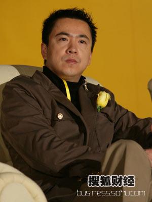图:华谊兄弟董事长王中磊