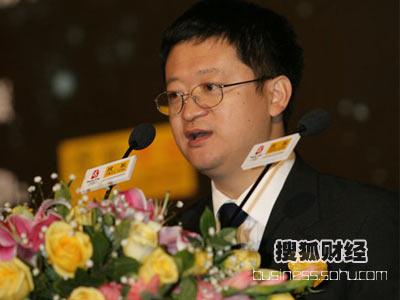 图:搜狐公司高级副总裁、搜狐网总编辑李善友