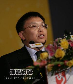 图:大唐移动CEO唐如安100秒发言