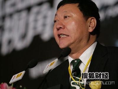 图:蒙牛集团董事长兼总裁牛根生100秒发言(1)