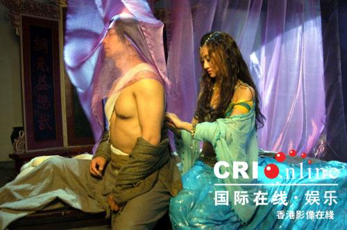 真美女下身裸体_赵文卓为《七剑》露点 与爱戴演激情戏(组图)