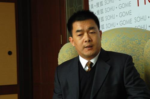 总裁在线专访金立副总经理王宝森