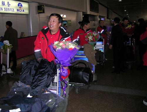 东风-帕拉丁车队观摩团结束了非洲之行回到北京