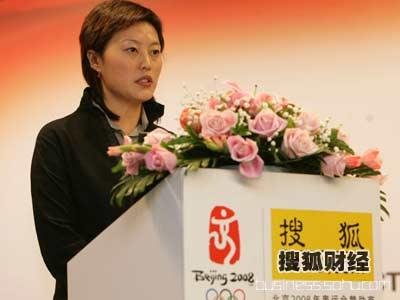 李红:奥林匹克品牌潜力巨大是至高的营销平台