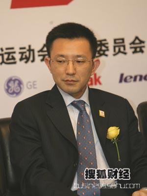 图:第二场论坛嘉宾--松下电器(中国有限)公司北京奥运推进室室长林卓一