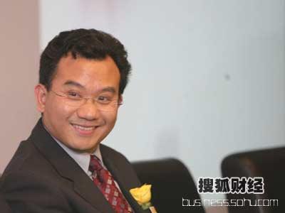 图:第二场论坛嘉宾--搜狐公司副总裁陈陆明