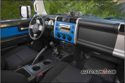 [北美车展]丰田标志性卡车FJ Cruiser
