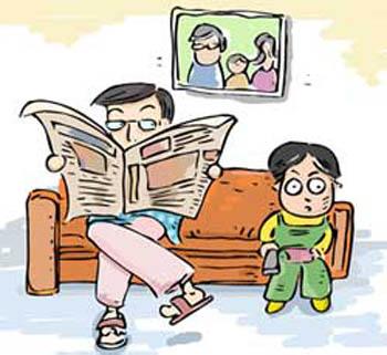 父母与孩子情感交流五大注意