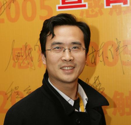图文:博客大赛颁奖嘉宾搜狐公司副总编方刚