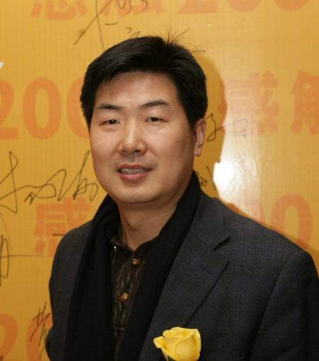图文:博客大赛嘉宾连邦软件公司总裁王建华
