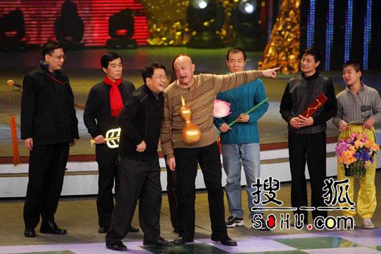 春晚彩排中的语言节目 姜昆等人的群口相声-1