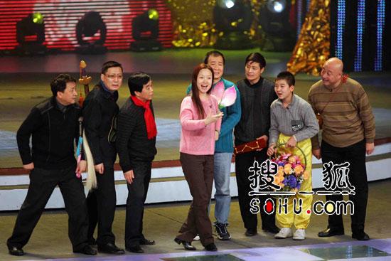 春晚彩排中的语言节目 姜昆等人的群口相声-2