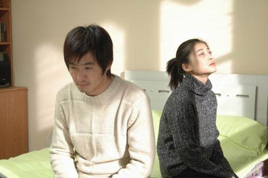 《玻璃婚》剧照-韩雨顺(郭晓冬)与蒋小雯(梅婷)