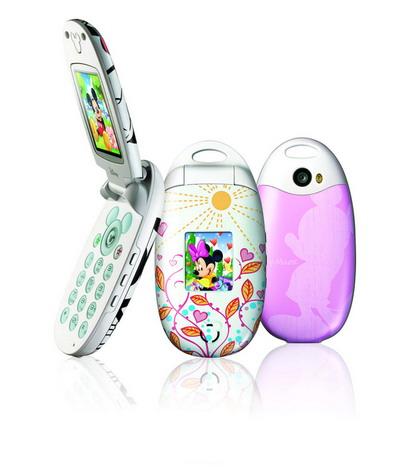 迪士尼手机风靡新年手机市场