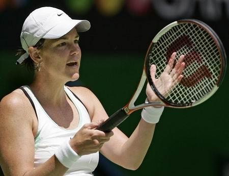达文波特轻松获胜 女单头号种子挺进澳网第三轮
