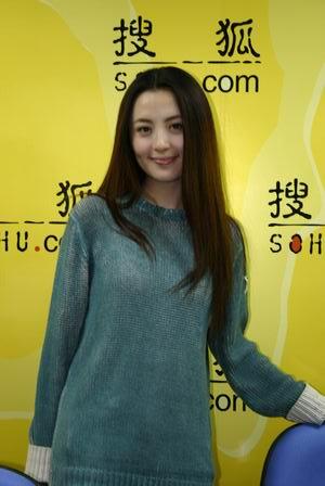 杨童舒做客搜狐(资料图片)