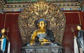北京最大藏传佛教寺院雍和宫