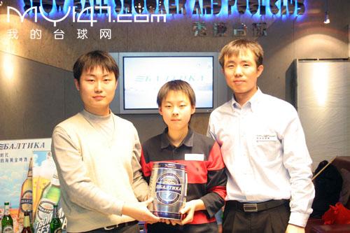 MY147网友台球赛 冠亚军的背后图片