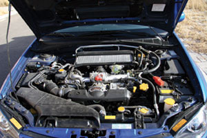 偏执狂--试驾2006款翼豹WRX