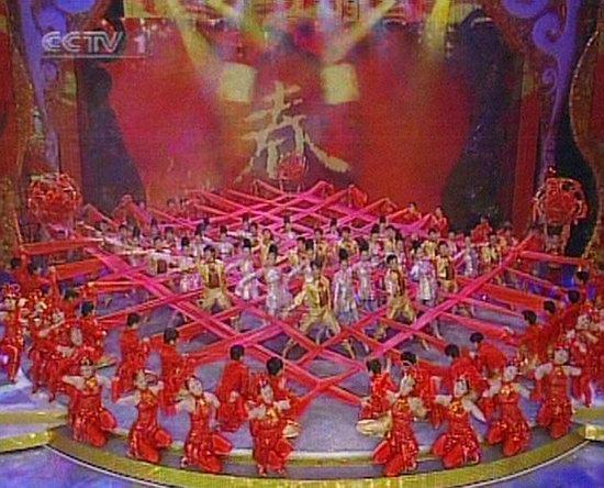 06春晚现场图-歌舞《礼赞春天》