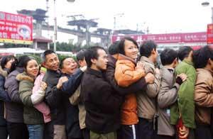 公路铁路迎来返程高峰 预计完成旅客4450万人次