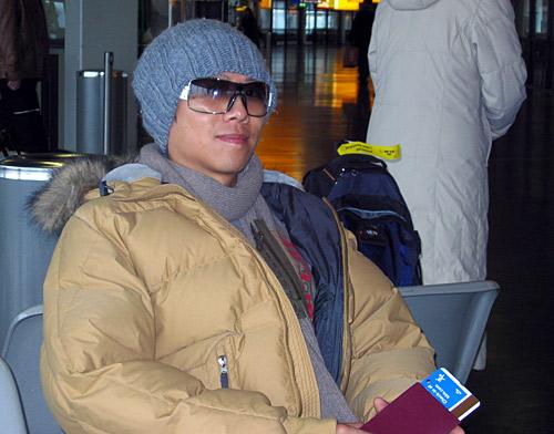 从北京飞到阿姆斯特丹