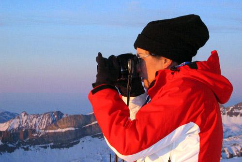 瑞士旅游局北京办事处首席代表于现场