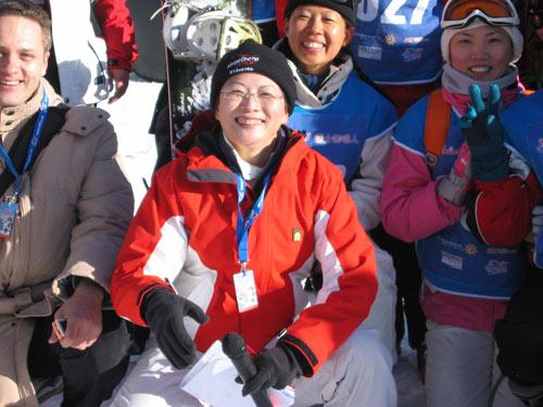 瑞士旅游局北京办事处首席代表现场风采