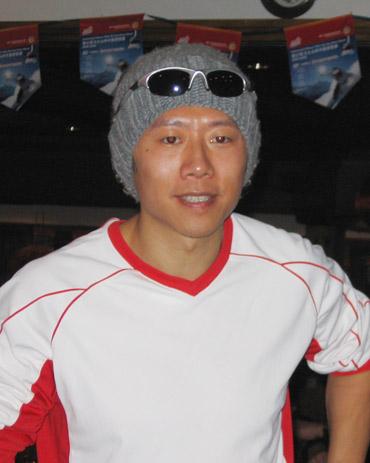 在铁力士杯中国滑雪赛颁奖晚宴上
