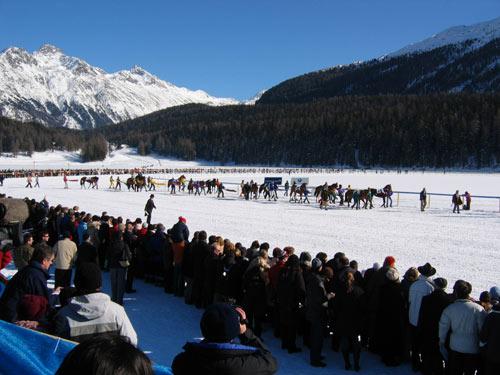 冰上马球赛:入场式
