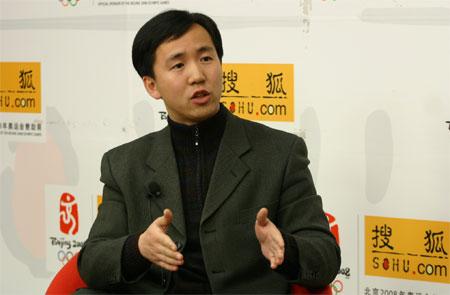 搜狐竞报联合报道 奥运沙龙:与火炬手谈冬奥
