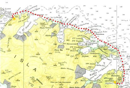 经过准备和修养 探险队两天后将到达南极湾
