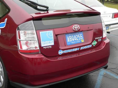 """钟师:在底特律""""尝鲜""""氢能混合动力车"""