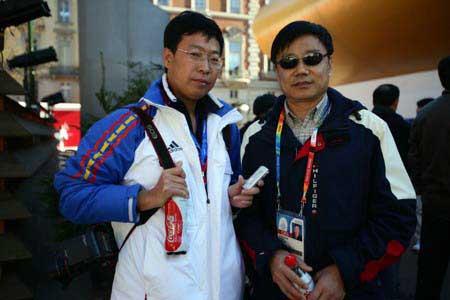 立足都灵展望北京 张学举谈青岛啤酒奥运战略