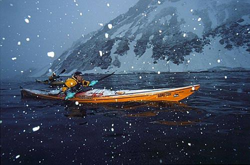 漫天飞雪的征程