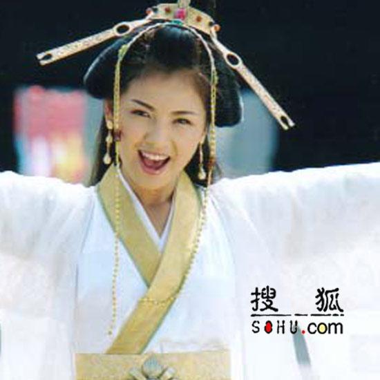 甜美刘涛《永乐英雄儿女》 笑场戏被导演通过