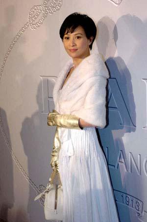 刘嘉玲郭富城等众星出席香港2006春夏时装会