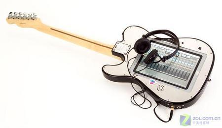 英特尔×Fender内置推出电脑的超级电吉他(图博古架中式cad图片