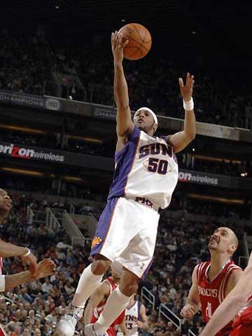 NBA图:太阳VS火箭 埃迪-豪斯轻而易举