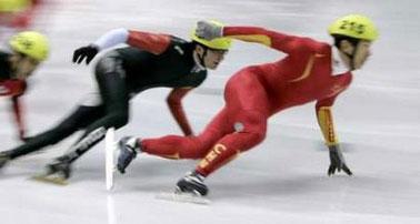 短道速滑男子1000米 李野第五韩选手包揽冠亚军