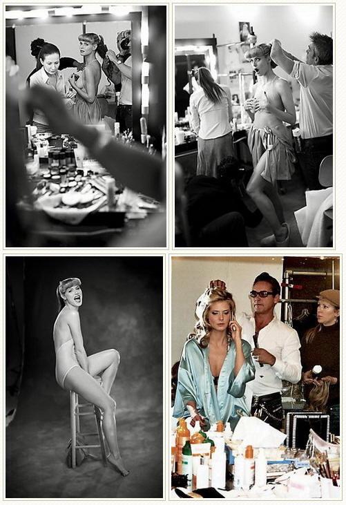 世界名模海蒂·克鲁姆全裸登体育画报