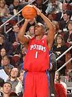 图文:NBA全明星三分远投大赛 比卢普斯跳投