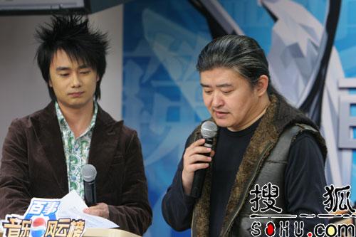 刘欢揭晓百事音乐榜专业奖项提名(组图)