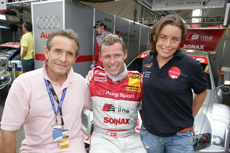 前F1车手女儿参加顶级房车赛 加盟DTM奥迪车队