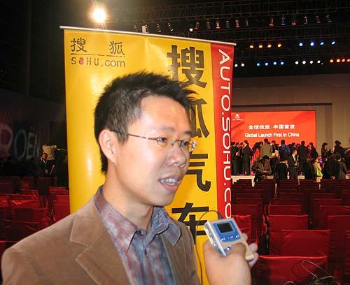 颜宇鹏:凯旋很独特 它在中国没有对手