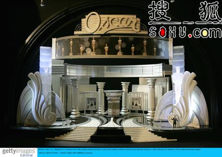 第78届奥斯卡颁奖礼 舞台设计模型昨亮相(图)