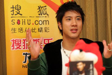 王力宏做客明星在线