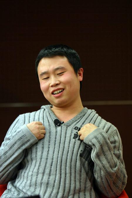《武林外传》郭芙蓉燕小六做客搜狐齐搞笑(图)