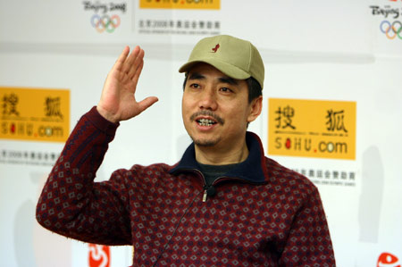 《武林外传》邢捕头做客搜狐:理想当导演(图)